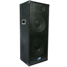1450W Dual 15 Inch Passive PA System Loud Speaker for Band DJ Karaoke Church