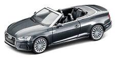 AUDI A5 Cabriolet modèle de voiture 1:87 2017 manhattangrau gris 5011705322