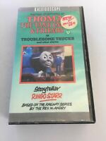 VHS - Further Adventures Of Thomas The Tank Engine & Friends In Troublesome Truc