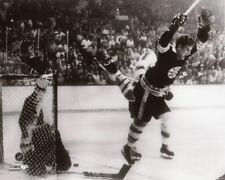 1970 Boston Bruins BOBBY ORR Glossy 8x10 Photo NHL Hockey Print The Goal Poster