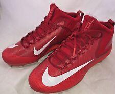 Nike Zoom Trout 3 Metal Baseball Cleats Light Crimson Red SZ 11.5 (856503-667)