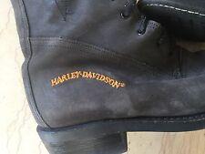 HARLEY DAVIDSON: SUBLIMES AUTHENTIQUES BOTTES FEMME POINTURE 37.5, À VOIR !