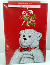 Gordon Fraser Cards Teddy Bear Christmas Elliott Professional Love Joy Set 6