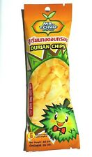 Thai Durian Chips Fruit Snack Famous 100% Natural Durian No sugar