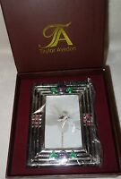 Taylor Avedon collectible Enamel Crystals Photo picture Frame small new