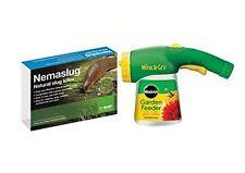 Nemaslug Slug Killer Standard Pack treats 40sq.m + Nematode Applicator