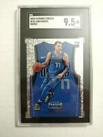 2018-19 Panini Threads Luka Doncic Rookie 9.5 SGC Stat Dazzle #141