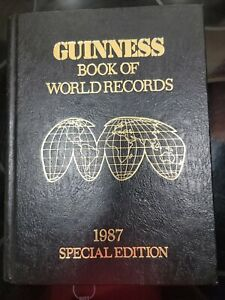 Guinness Book of World Records 1987 Special Edition Hardcover Free Shipping