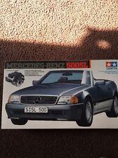 1990 TAMIYA Mercedes-Benz 500SL Kit 1/24