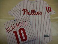 0207 MENS Majestic Philadelphia Phillies JT REALMUTO Sewn Baseball Jersey NEW
