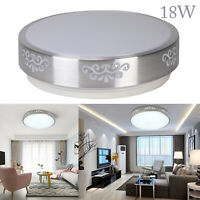 18W Bright Round LED Ceiling Down Light Panel Wall Bathroom Kitchen Lamp