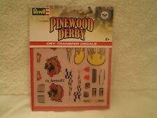Pinewood Derby DRY TRANSFER DECALS - DECALS B RMXY9620