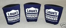 x5 Collapsible Beer Drink Can Koozie Hugger Cooler ZEP Commercial Lowe's Blue