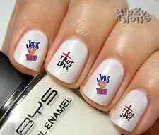"RTG Set#556 IMAGE ""Jesus True Love"" WaterSlide Decals Nail Art Transfers Salon"
