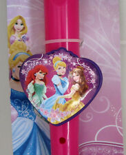 New Disney Princess Flute Recorder Cinderella, Ariel, Belle,Pink Music.