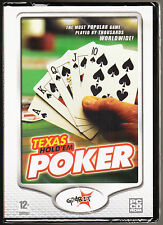 TEXAS HOLD'EM POKER - SKILL/STRATEGY GAME - WINDOWS - NEW & SEALED PC CD ROM