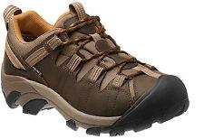 KEEN Targhee II Mens US Size 12 Brown Leather Hiking Shoes UK 11 New/display