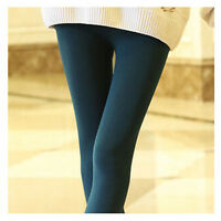 Womens Warm Winter Skinny Slim Leggings Stretch Pants Thick Footless Sexy Charm