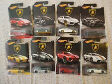 Hot Wheels 2016 Lamborghini Walmart Exclusive Full Set Of 8 Cars