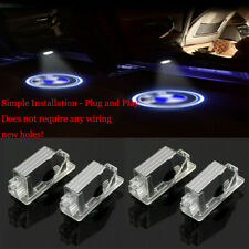 4pcs Door Led Lights Bmw Logo Projector Easy Install Emblem Ghost Shadow For Bmw (Fits: Bmw)