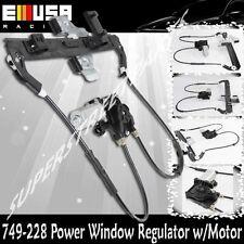 Rear Left Drive Power Window Regulator for 00-06 GMC Yukon SLT/LT/LS Utility 4D
