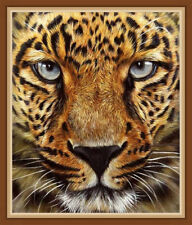 AU Leopard Tiger DIY 5D Full Drill Diamond Painting Embroidery Cross Stitch HN