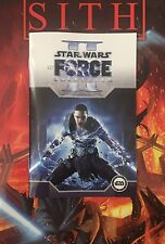 Star Wars: The Force Unleashed II - Rare White Variant Mini Comic Book - DHC