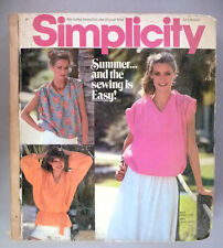 Simplicity Patterns CATALOG - July/Aug, 1978 ~~ Large Store Counter Pattern Book