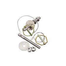 OMP EB489 Bonnet Pins Stainless steel - aluminium
