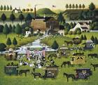 Charles Wysocki Rally At Dandelion Mill Print ARTIST PROOF  S & N With COA