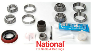 """1983-2001 GM 7.25"""" Front Axle-Differential Bearing & Seal Kit, NATIONAL RA320A"""