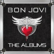 BON JOVI - THE ALBUMS - 180 GRAM HEAVYWEIGHT VINYL - 25 LP BOX SET  REMASTERED