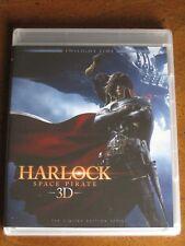 HARLOCK: SPACE PIRATE 3D/2D (2013) (Blu-Ray) TWILIGHT TIME - BRAND NEW!!!