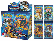 Evolutions Near Mint or better Pokémon Individual Cards