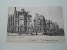 LEEDS, GENERAL INFIRMARY - Antique Postcard  Franked+Stamped 1903 §E2069