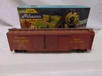 Vintage Athearn train HO Scale 5036 Union Pacific Box kit car in box USA 6""
