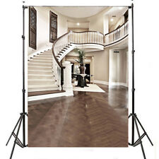 100% Polyester Photography Photo Background Studio Backdrop Indoor Stairs 5X7FT