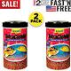 Tetra Cichlid Floating Pellets Fish Food Medium Large Cichlids 6 Ounce 2 Pack