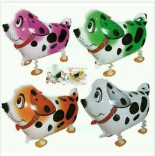 LOT OF (10) WALKING ANIMAL BALLOON DOGS PETS AIR WALKER HELIUM BIRTHDAY PARTY