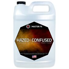 Master Fx Hazed and Confused Pro Water-Based Haze Machine Juice Fluid 1 Gallon