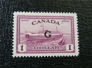 nystamps Canada Official Stamp # O25 Mint OG NH UN$120 VF   M5x1976