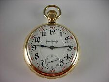 Antique 18s Illinois Bunn Special Rail Road pocket watch 1908. Beautiful case!