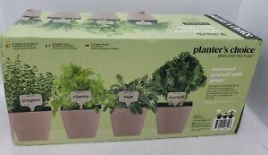 NEW 9-Herb Window Garden Indoor Herb Growing Kit 34 pc kit