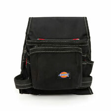 Dickies Black 8 Pocket Construction Tool Belt Utility Pouch 57075