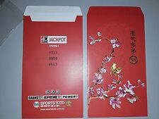 Ang Pao Red Packet 1pc TOTO