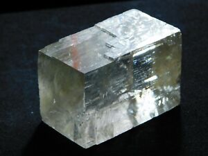 A Semi Translucent Iceland Spar HONEY Calcite Crystal 62.9gr