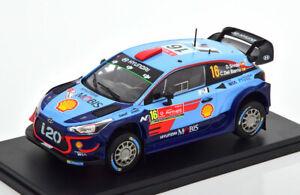 1:24 Atlas Hyundai i20 WRC #16, Rally Portugal Sordo/delBarrio 2018