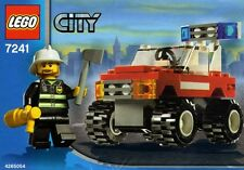 FIRE CAR, Lego City Emergency Rescue 7241, Very Nice, NEW in Box!