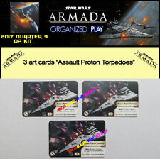 STAR WARS ARMADA 2017 QUARTER 3 OP KIT - 3 Assault Proton Torpedoes