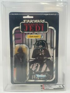 77 Back-A AFA 80 NM Darth Vader Kenner Lili Ledy Made in Mexico Star Wars 1984